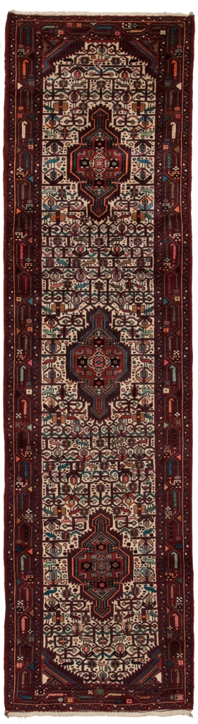Persian Hamadan Runner Kilim I Runner at Essie Carpets, Mayfair London