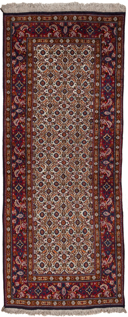 Persian Moud Mashhad Runner Runner at Essie Carpets, Mayfair London