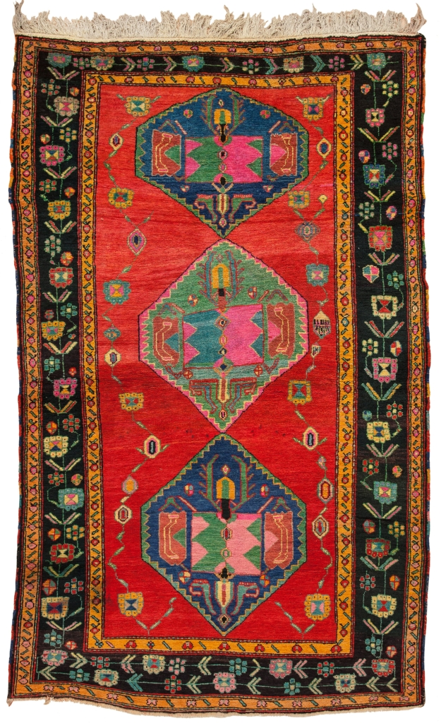 Russian Karabakh Rug at Essie Carpets, Mayfair London