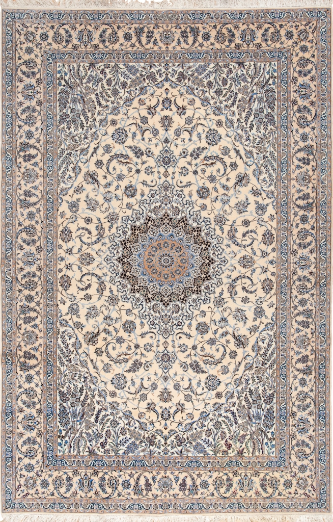 Extremely Fine,  Persian Nain Carpet at Essie Carpets, Mayfair London