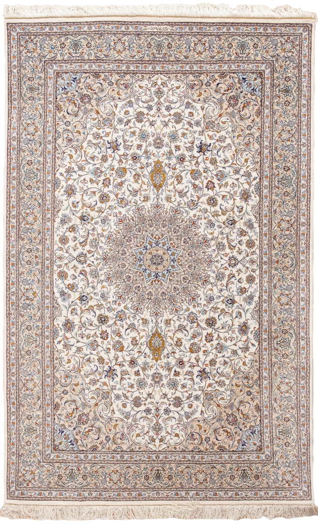 Fine Signed Persian Kashan Rug at Essie Carpets, Mayfair London