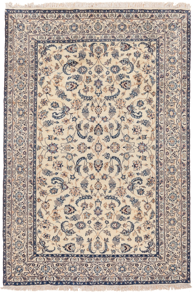 Very Fine, Rare  Persian Nain Rug at Essie Carpets, Mayfair London