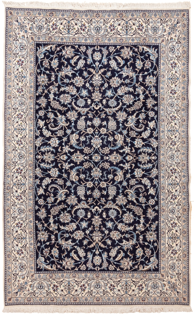 Fine Persian Nain Carpet at Essie Carpets, Mayfair London