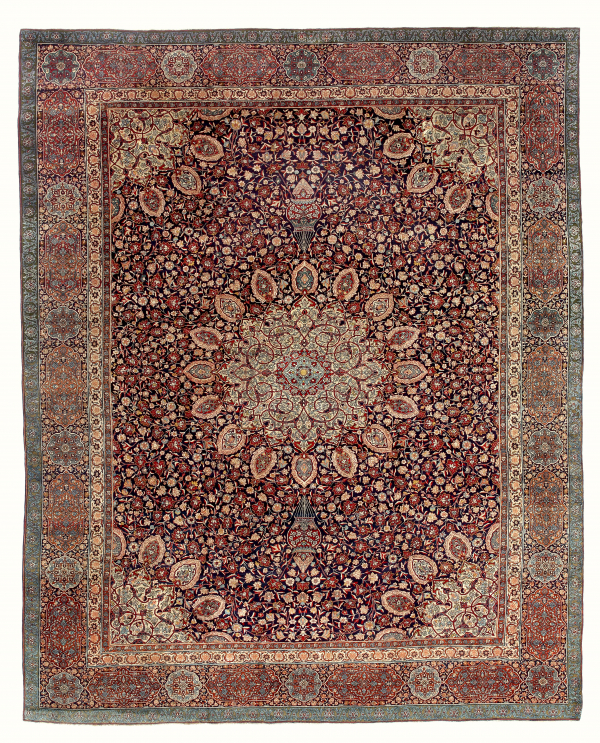 Fine Persian ' Ardabil' Tabriz  Extra Large Carpet at Essie Carpets, Mayfair London