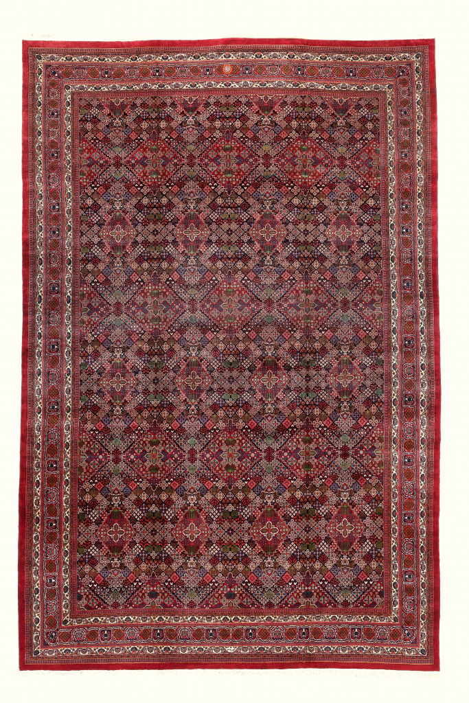 Signed Persian Birjand Extra Large Carpet at Essie Carpets, Mayfair London