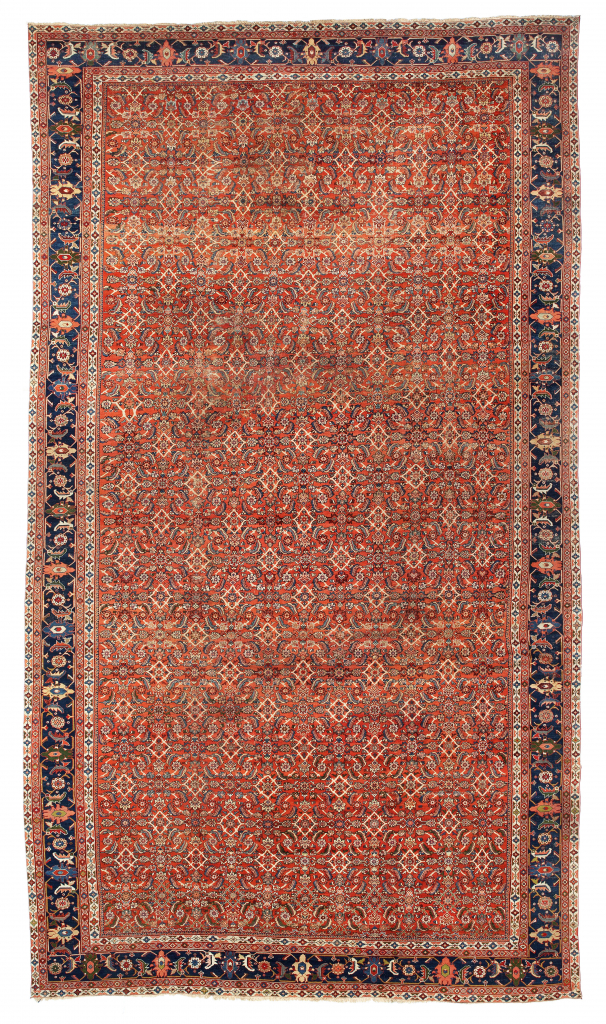 Antique Farahan  Extra Large Carpet at Essie Carpets, Mayfair London