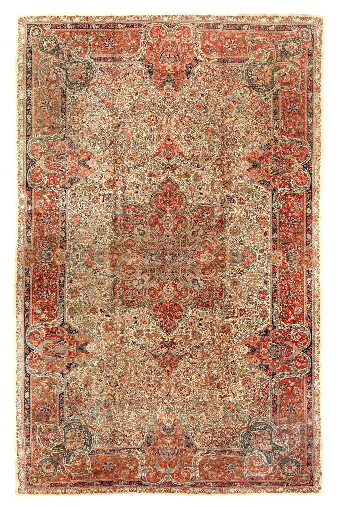 Oversized Old Tabriz Persian Carpet, Essie Carpets, London Mayfair
