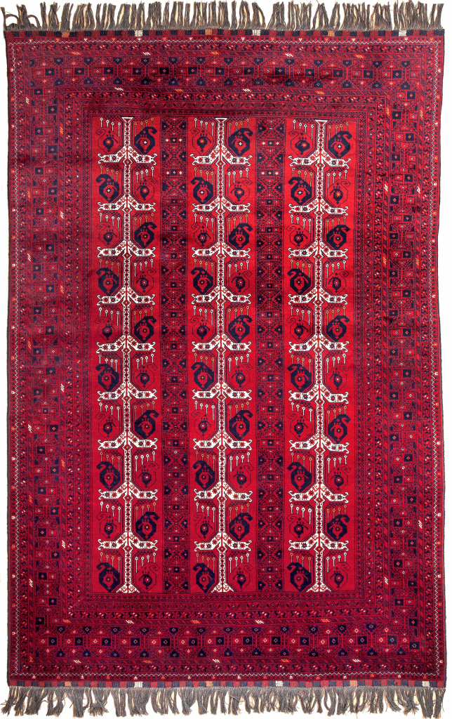 Afghan Rug at Essie Carpets, Mayfair London