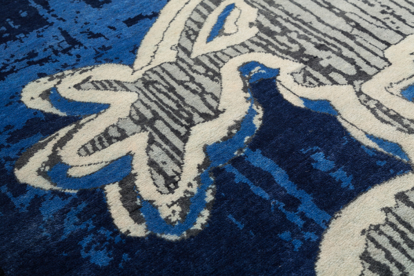 Disney's Mickey Mouse Collectable Rug at Essie carpets Mayfair London