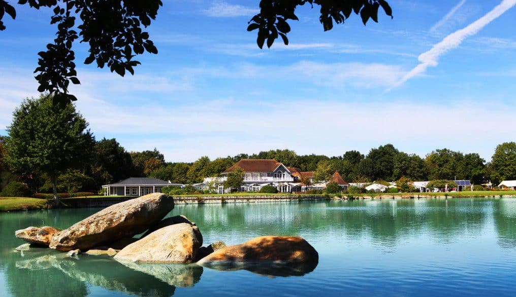 Photo-Etiolles Country Club-vue sur lac