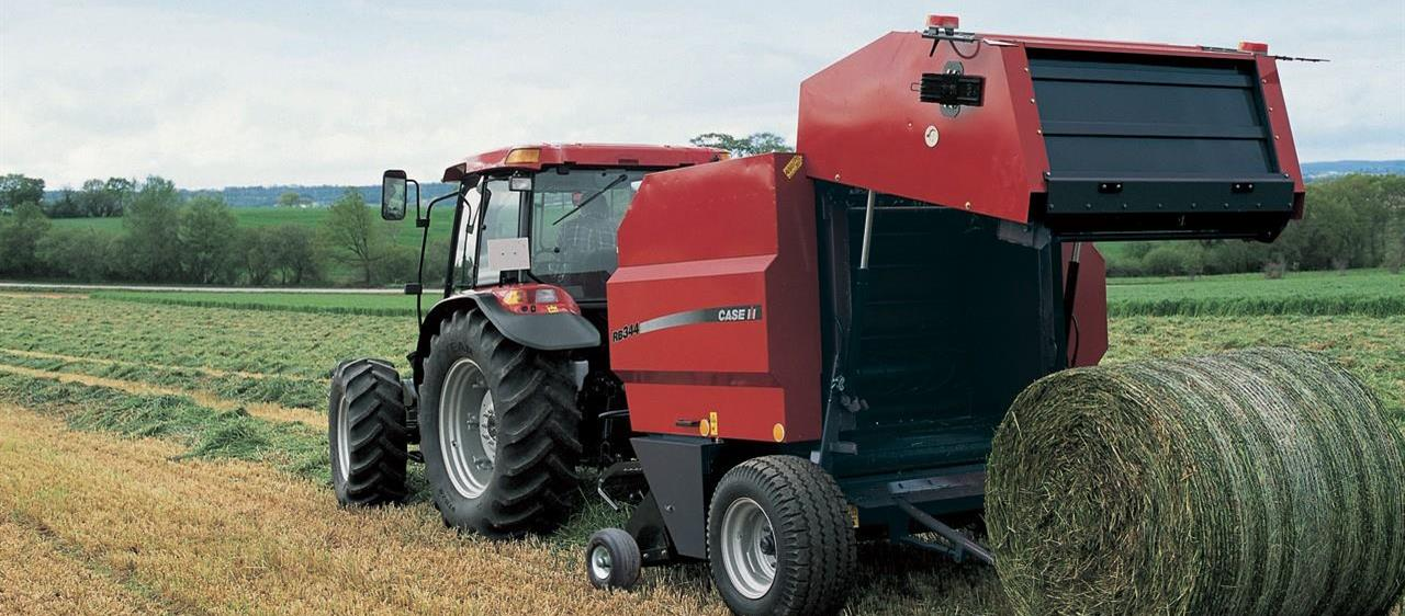 Round Balers RB 344 Series Fixed Chamber