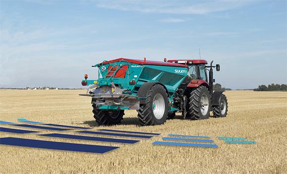 XT 100 / 130 / 160 trailed fertiliser spreader