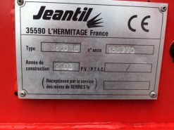 Jeantil PR 3800 RE Bedder/Feeder