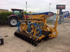 Alpego 3m Rotodent RK Power Harrow & Jet-M Combination Drill