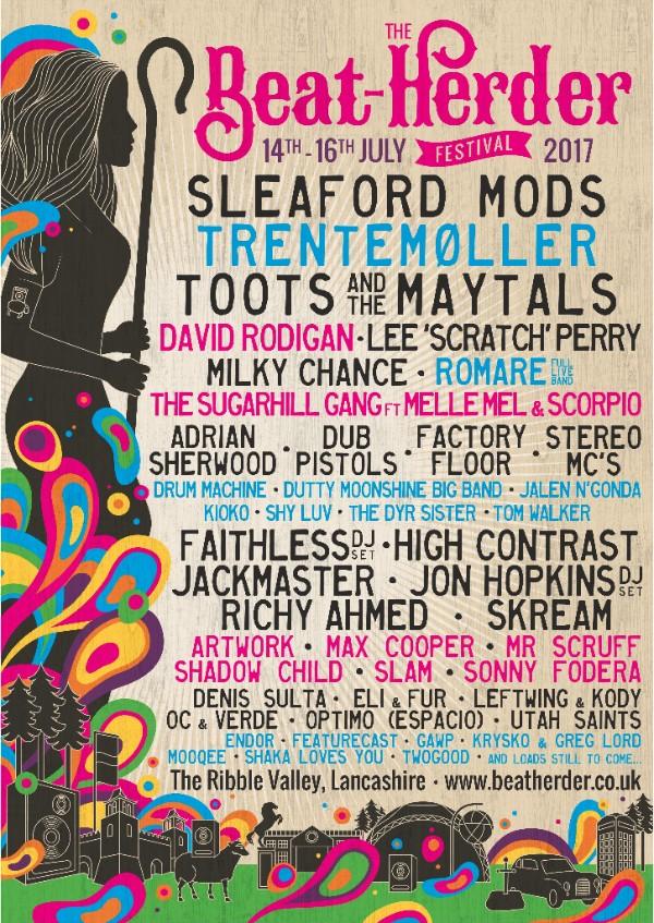 Beat Herder Festival 2017 Poster