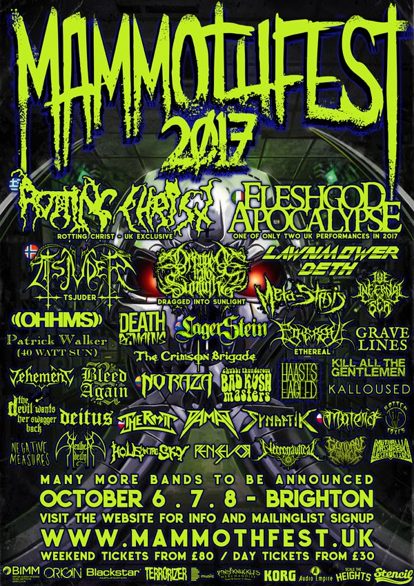 Mammothfest 2017 Poster