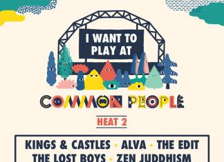 Announcing the line-up for Heat 2 of I Want to Play at Common People! Get down t...