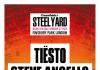 Just announced, Steel Yard London, Finsbury Park with Tiësto, Steve Angello, Fai...