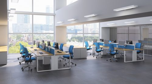 Examples of Office Furniture installed by Flow