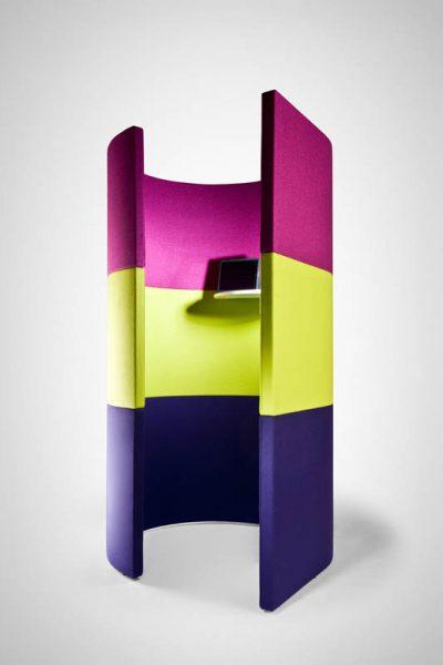 modern multi-colour office pod