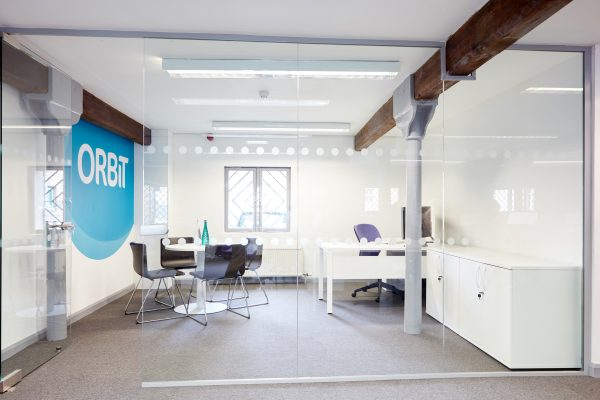 A breakout area in an office in York.