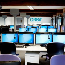 flow office design for orbit york desks and chairs