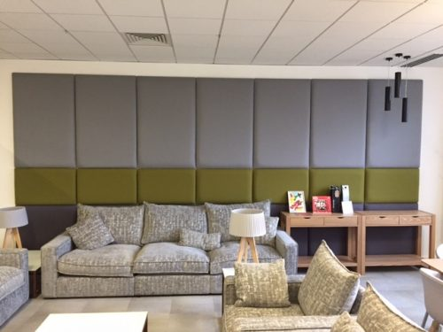 Flow Office acoustic panelling can control and reduce noise pollution in your office.