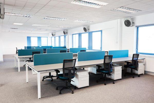 quay house office design multiple desks