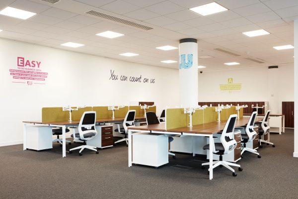 wavenet modern office design birmingham