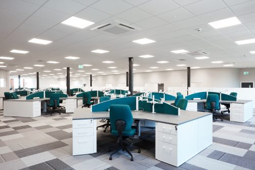crane payments office design flow office