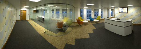 Hive360 Panoramic Interior Reception