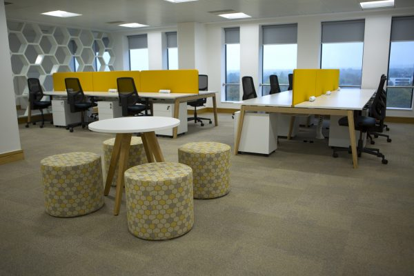 Hive360 Birmingham Desks And Stools