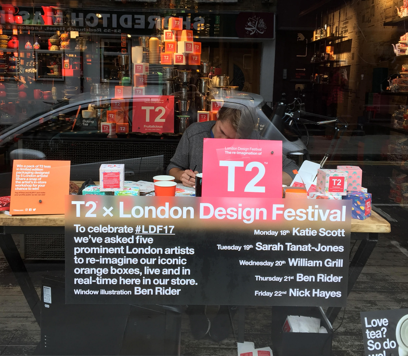 T2 Tea x London Design Festival 6