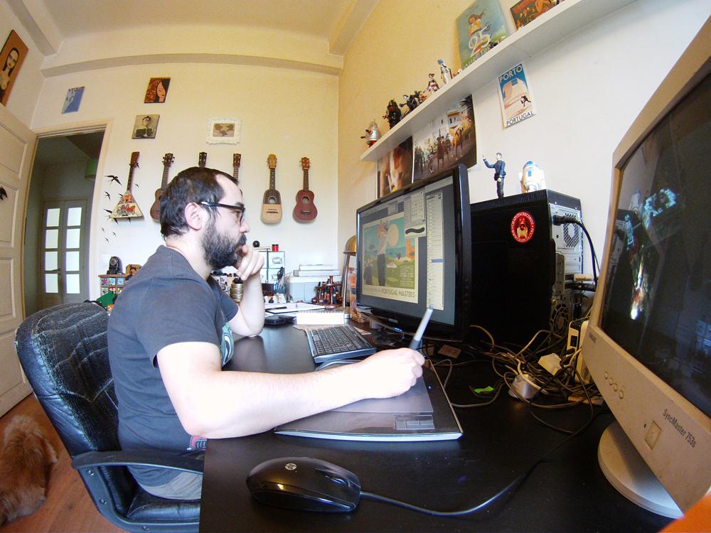 In the Studio: Rui Ricardo 5