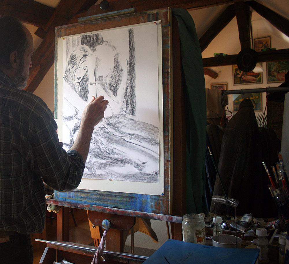 In the Studio: Bruce Emmett 6