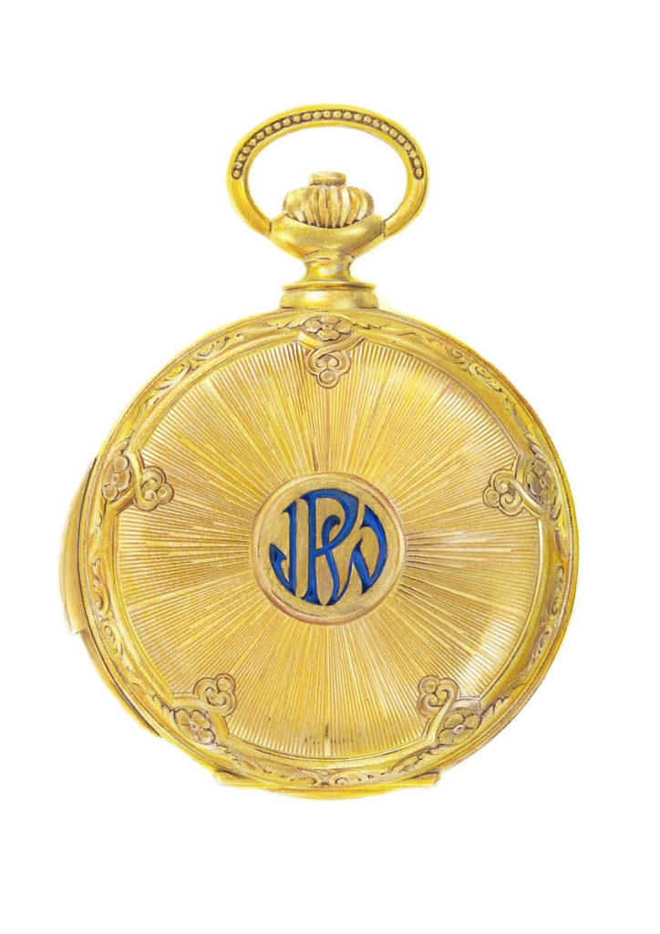 Painting of a Patek Philippe pocket watch
