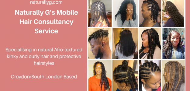 Naturally G's Mobile Hair Consultancy Service