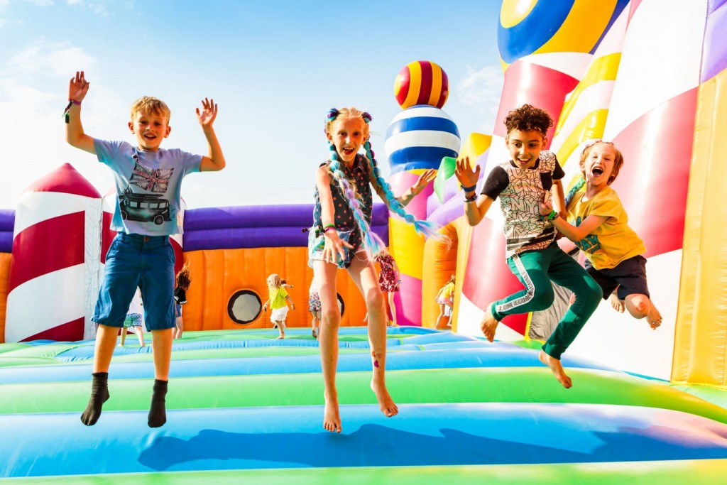 The World's Largest Bouncy Castle