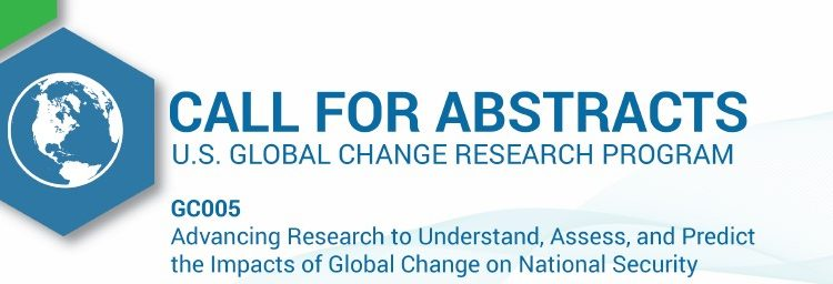 Call for Abstracts | USGCRP @ AGUFall2019