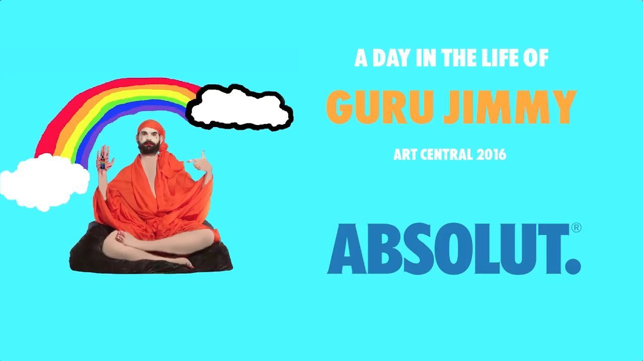A DAY IN THE LIFE OF GURU JIMMY | ABSOLUT | ART CENTRAL HONG KONG | 2016