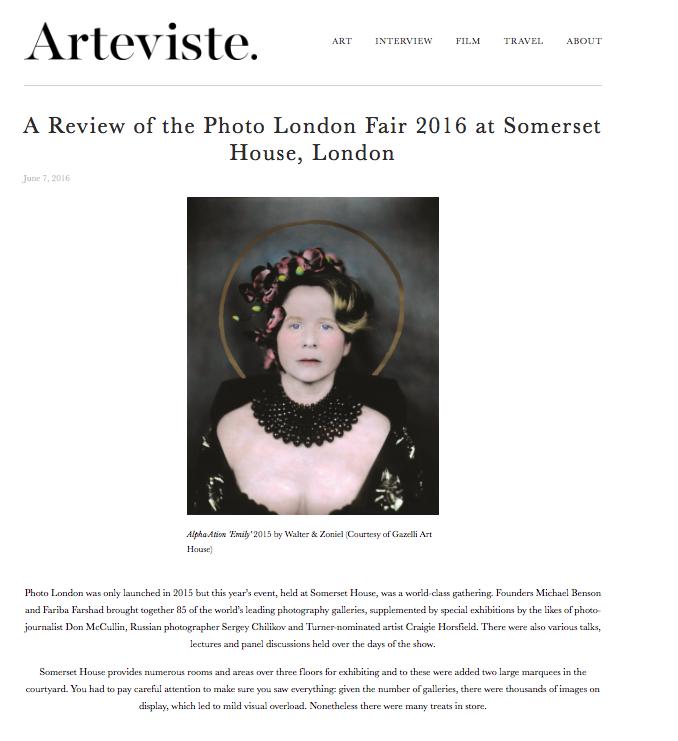 WALTER & ZONIEL | ARTEVISTE | JUNE 2016