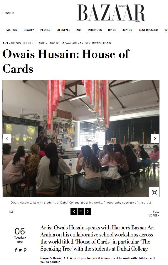 OWAIS HUSAIN | HARPER'S BAZAAR ARABIA | OCTOBER 2016