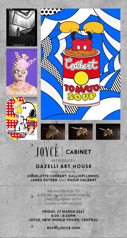 JOYCE CENTRAL HOSTS GAZELLI ART HOUSE | ART BASEL HONG KONG 2017
