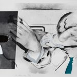 Richard Hamilton: Swingeing London, 1968. Etching and aquatint with embossing, 54 x 74cm © Richard Hamilton