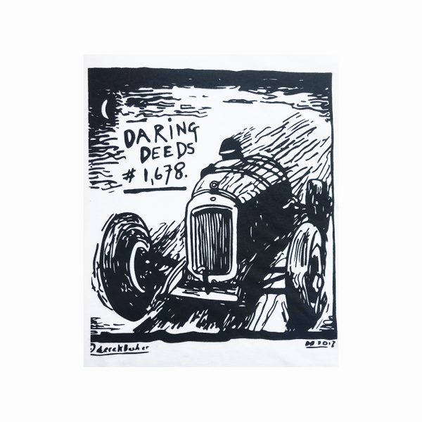 Derek Boshier Limited Edition T-shirt: Daring Deeds