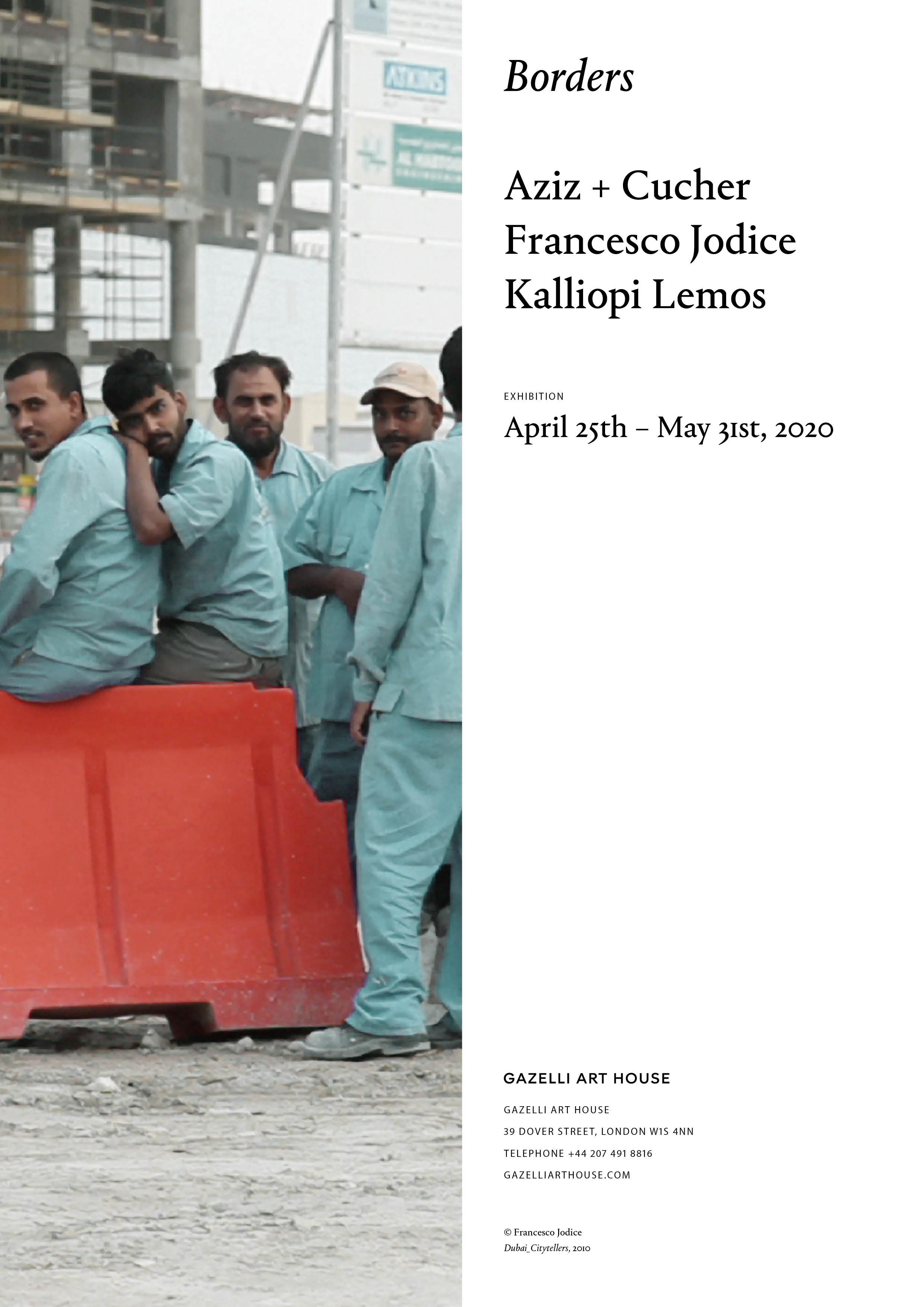 BORDERS | FRANCESCO JODICE | SCREENING INTRODUCTION | MAY 2020