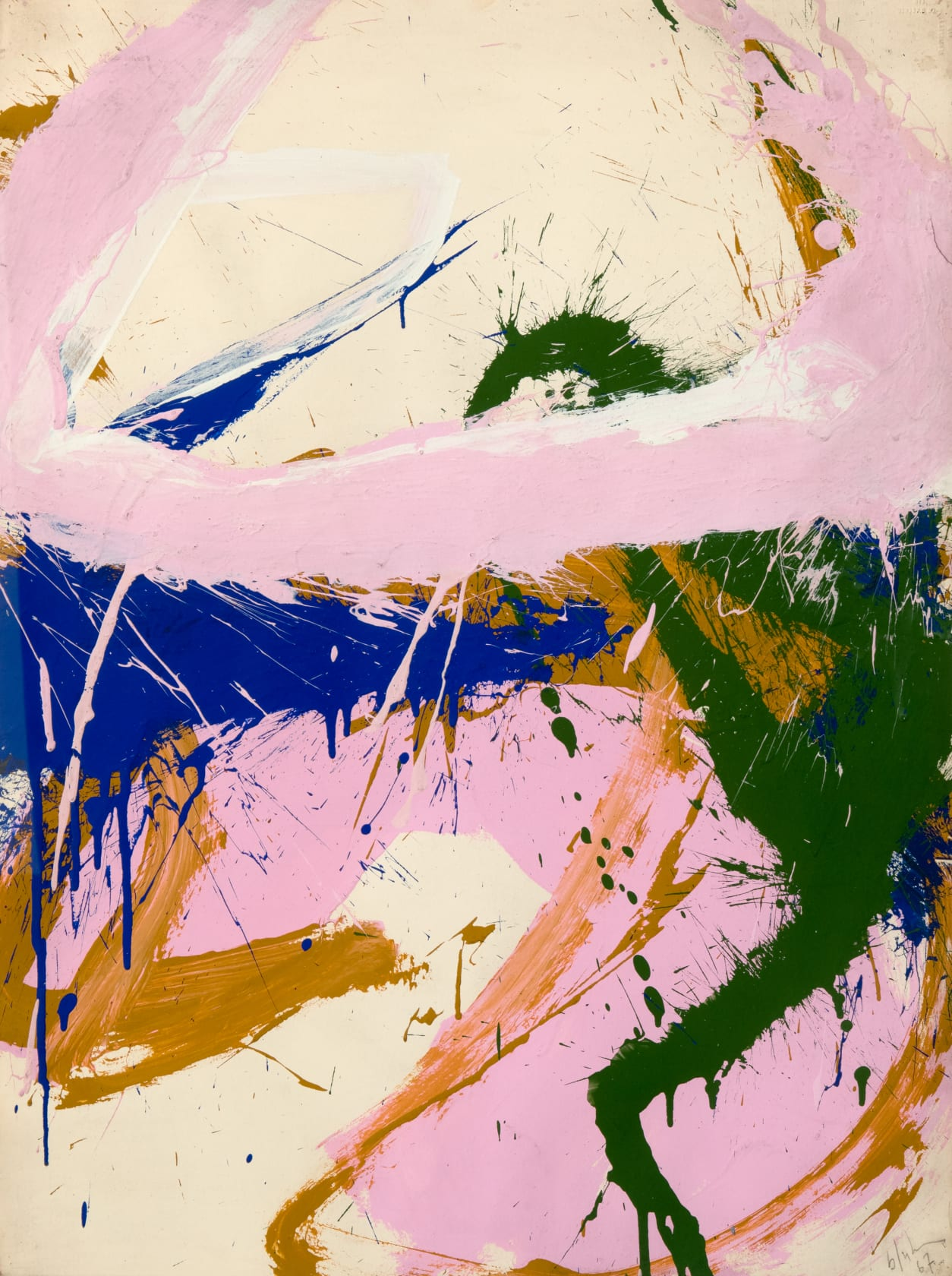 TUESDAY TALK | CROSS ATLANTIC: ABSTRACT ART IN THE UK AND USA DURING THE 60s
