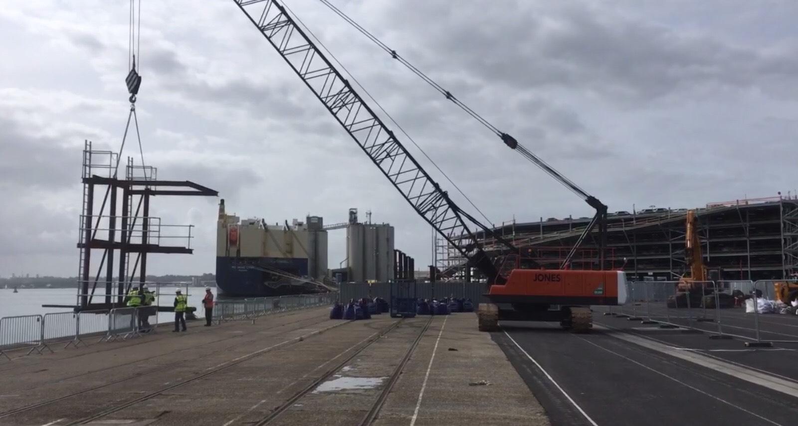 ABP Southampton Berths 30 – 33 Improvements