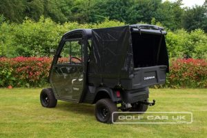 Cushman Hauler Pro with Bed Canopy