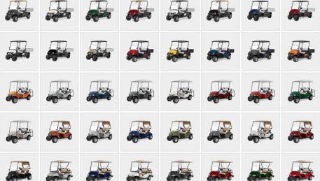 E-Z-GO and Cushman Vehicle Colour Range